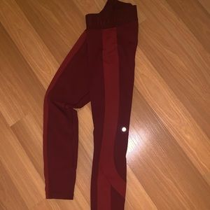 Lululemon two tone leggings